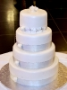 Traditional Wedding Cake.  Yes, we can do these too.