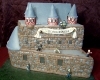 Castle Wedding Cake- With Zombies!